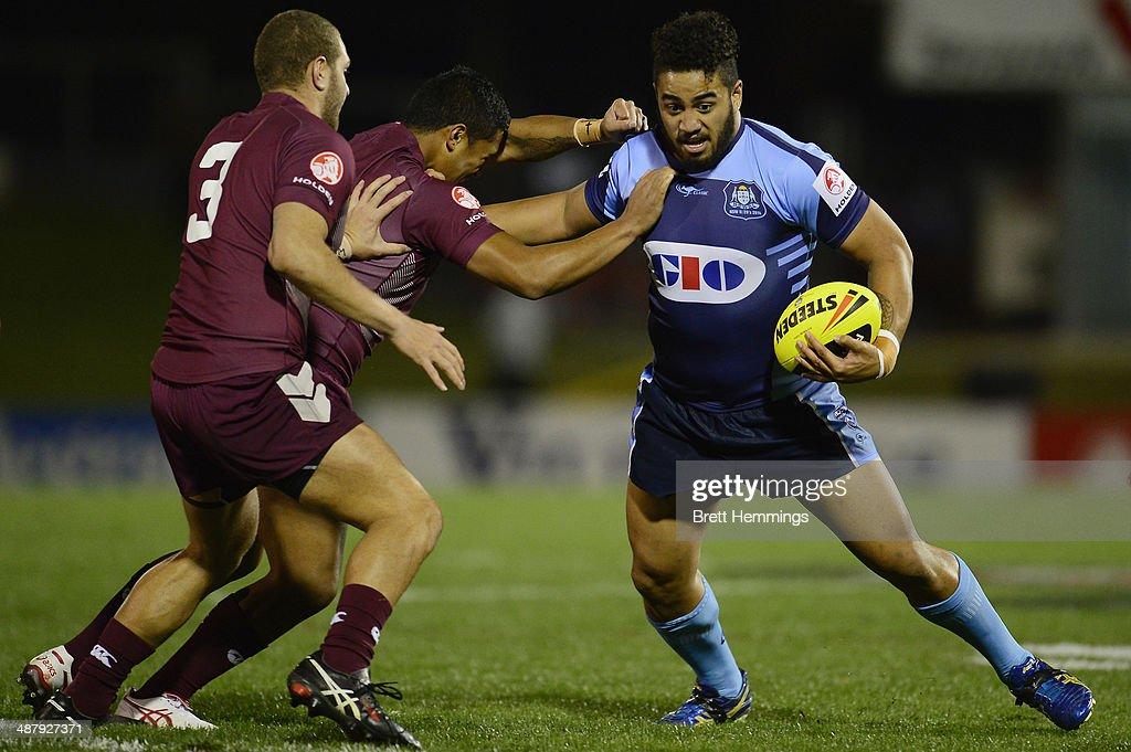 Under 20's State Of Origin - NSW v QLD : News Photo
