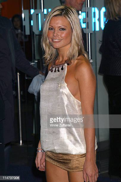 Jakki Degg attending the London premiere of Maid in Manhattan February 26 2003 Odeon Theatre Leicester Square London UK