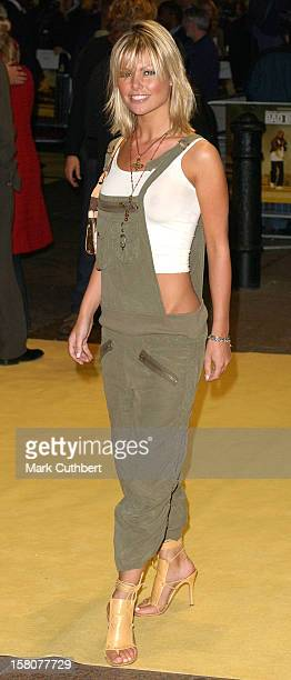 Jakki Degg Attends The 'Bad Boys Ii' Premiere In London'S Leicester Square