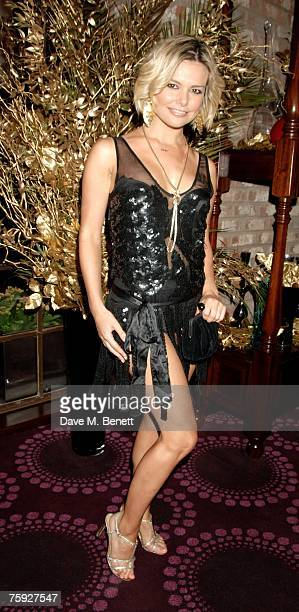 Jakki Degg attends the launch party of the Icon VIP Room at the Empire Casino Leicester Square on August 1 2007 in London England