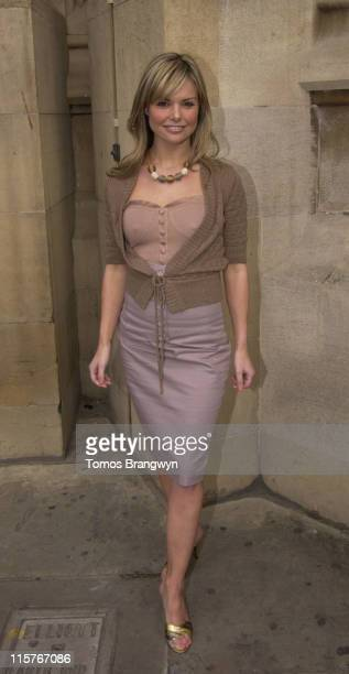 Jakki Degg during Animal Defenders International Photocall London April 19 2006 at House of Lords Terrace Pavillion in London Great Britain