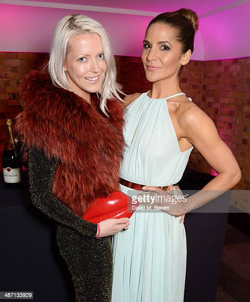 Jakki Healy and Amanda Byram attends the BAFTA Television Craft Awards at The Brewery on April 27, 2014 in London, England.