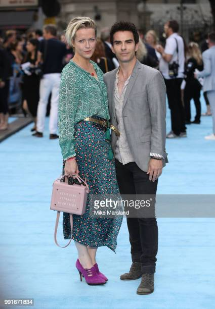 Jakki Healy, Kelly Jones attends the 'Swimming With Men' UK Premiere at The Curzon Mayfair on July 4, 2018 in London, England.
