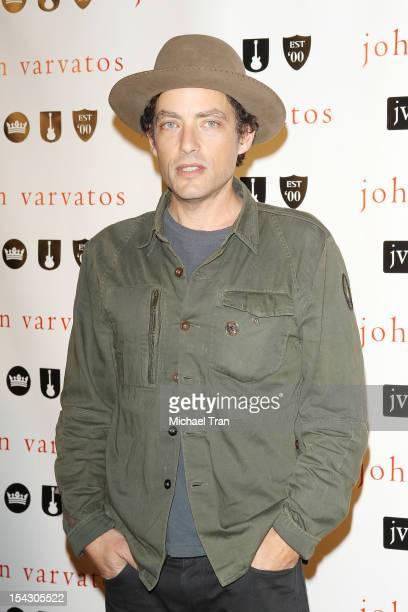Jakob Dylan arrives at the John Varvatos West Hollywood 10 year anniversary celebration held at John Varvatos Los Angeles on October 17 2012 in Los...