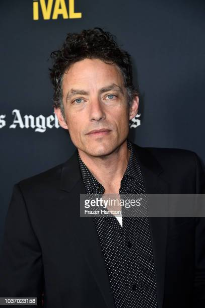 Jakob Dylan attends the 2018 LA Film Festival Opening Night Premiere Of 'Echo In The Canyon' at John Anson Ford Amphitheatre on September 20 2018 in...
