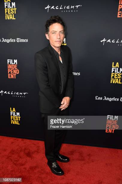 Jakob Dylan attends the 2018 LA Film Festival Opening Night Premiere Of Echo In The Canyon at John Anson Ford Amphitheatre on September 20 2018 in...