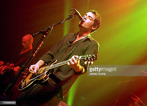 Jakob Dylan during The Wallflowers live in Chicago at Riviera in Chicago IL United States