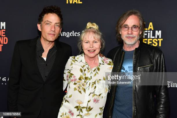 Jakob Dylan Michelle Phillips and Jackson Browne attend the 2018 LA Film Festival Opening Night premiere of Echo In The Canyon at John Anson Ford...