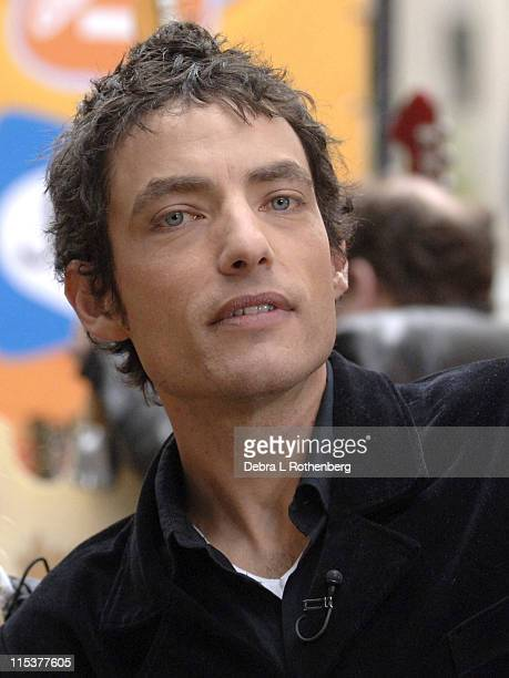 Jakob Dylan of The Wallflowers during The Wallflowers Perform on the 2005 Today Show Weekend Concert Series at Rockefeller Plaza in New York City New...