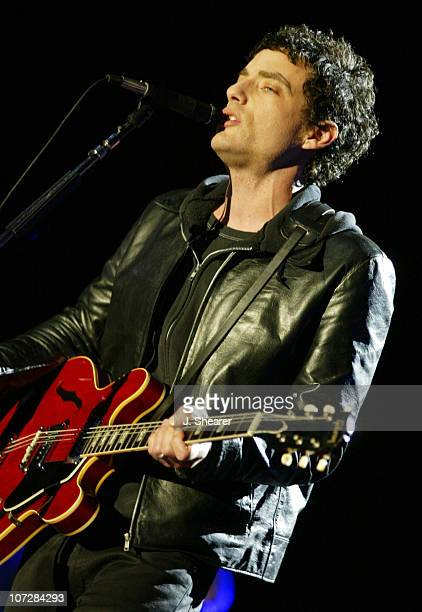Jakob Dylan of The Wallflowers performs at the TMobile Rocks the Rock concert at Alcatraz Island in San Francisco This was the first ever concert...