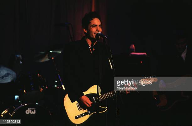 Jakob Dylan of Wallflowers during Giorgio Armani Party at Lexington Armory in New York City New York United States