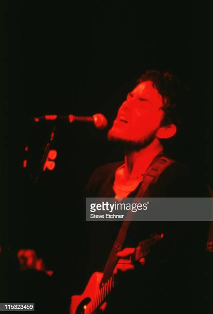 Jakob Dylan of Wallflowers during Wallflowers in Concert at Wetlands 1993 at Wetlands in New York City New York United States