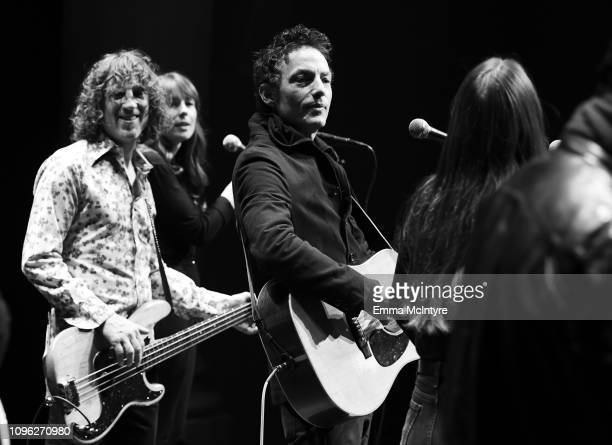 Jakob Dylan performs at a screening of 'Echo in the Canyon' during the 34th Santa Barbara International Film Festival at the Lobero Theatre on...