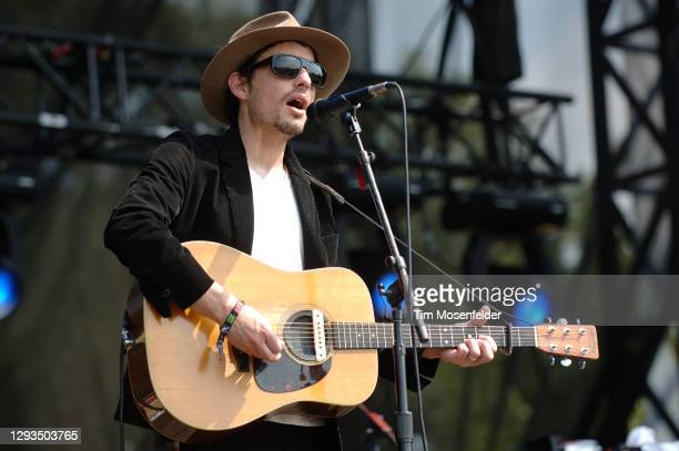 Jakob Dylan performs during the Austin City Limits Music Festival at Zilker Park on September 26, 2008 in Austin, Texas.