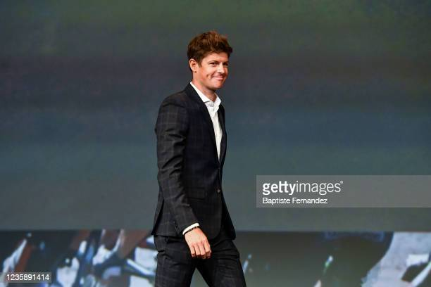 Jakob FUGLSANG during the presentation of the Tour de France 2022 at Palais des Congres on October 14, 2021 in Paris, France.
