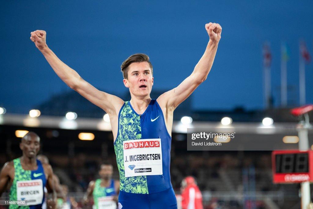 Stockholm - 2019 Diamond League : News Photo
