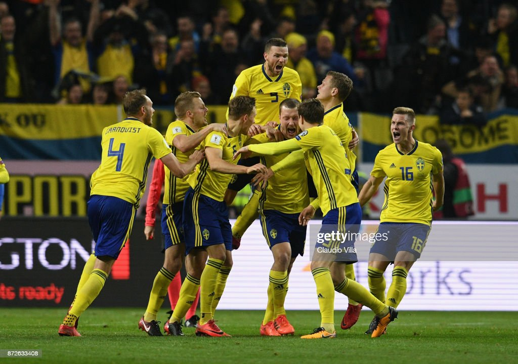 Sweden v Italy - FIFA 2018 World Cup Qualifier Play-Off: First Leg : News Photo