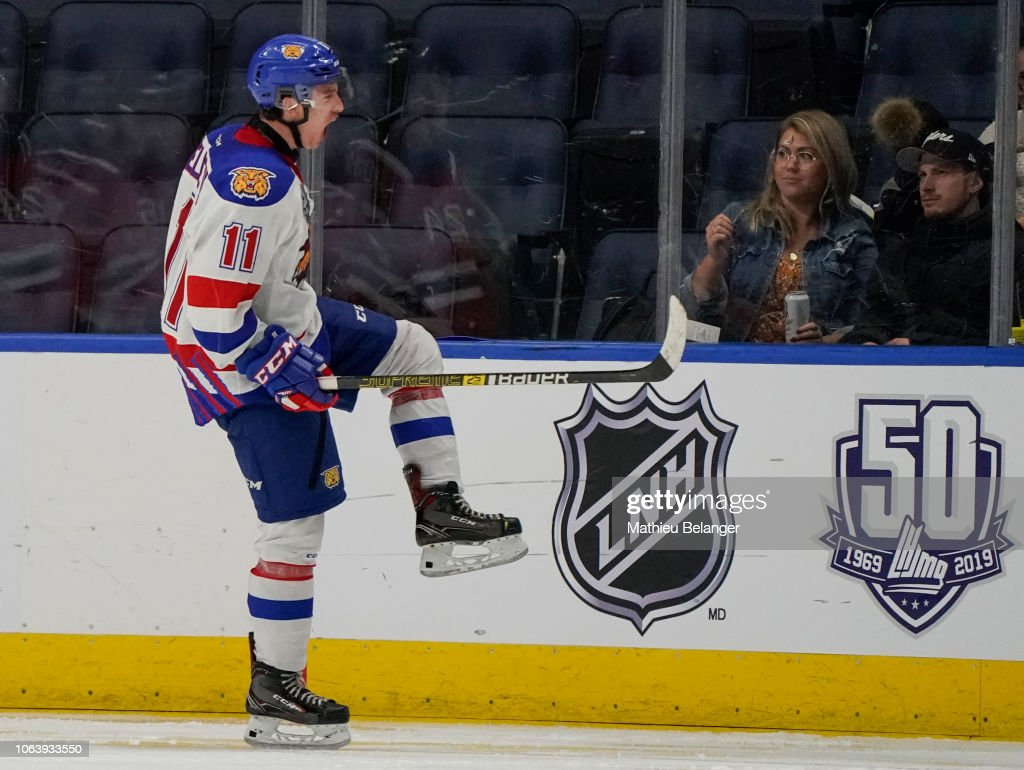 Moncton Wildcats v Quebec Remparts : News Photo
