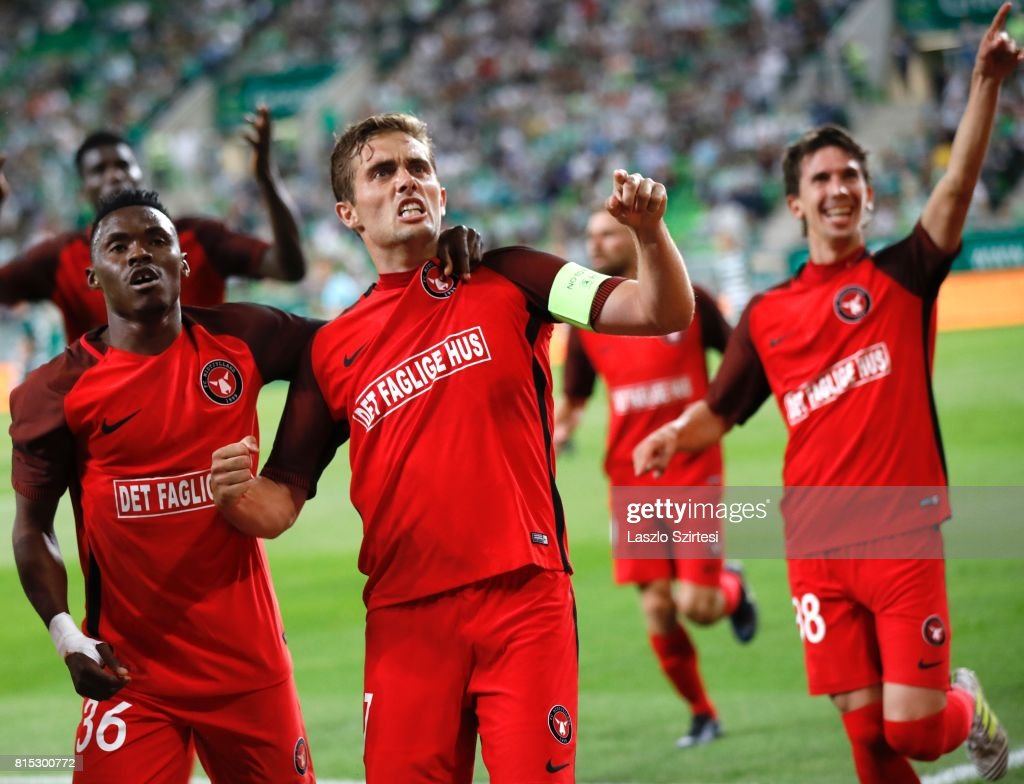 Ferencvarosi TC v FC Midtjylland - UEFA Europa League Second Qualifying Round