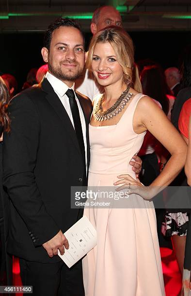 Jakob Shtizberg and Susan Sideropoulos arrive at Tribute To Bambi 2014 at Station on September 25 2014 in Berlin Germany