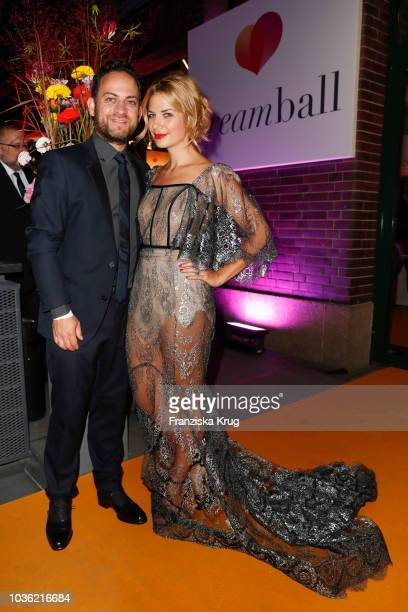 Jakob Shtizberg and Susan Sideropoulos attend the Dreamball 2018 at WECC Westhafen Event Convention Center on September 19 2018 in Berlin Germany