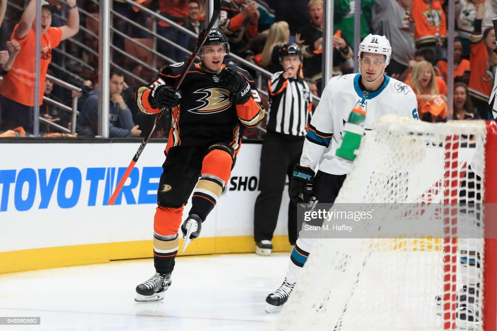 San Jose Sharks v Anaheim Ducks - Game Two