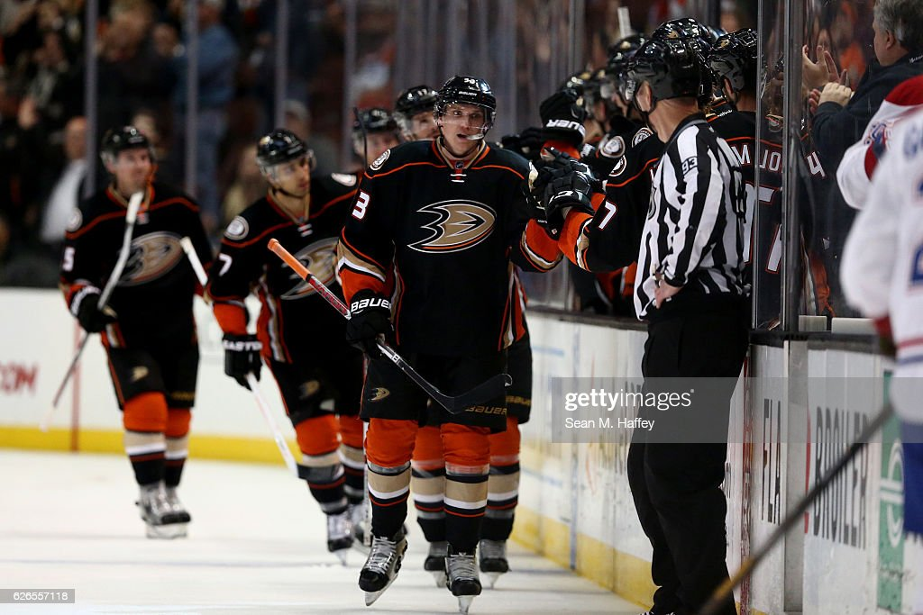Montreal Canadiens v Anaheim Ducks : News Photo