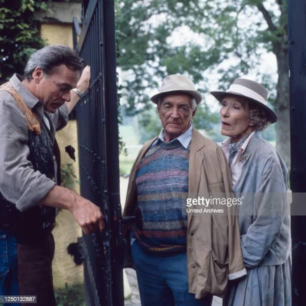 Jakob und Adele, Fernsehserie, Deutschland 1988, Darsteller: Dirk Galuba, Carl Heinz Schroth, Brigitte Horney.