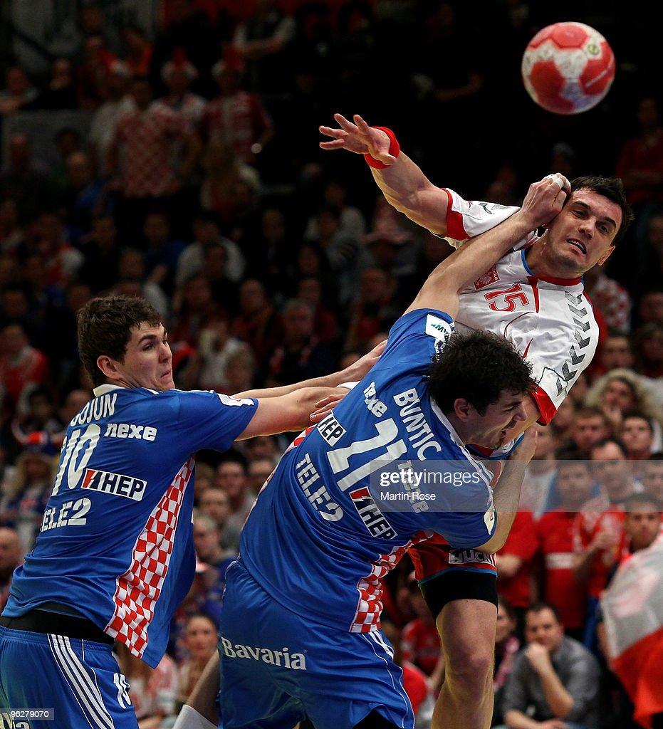 Croatia v Poland - Men's European Handball Championship 2010
