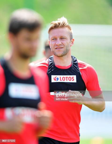 Jakub Blaszczykowski during a training session of the Polish national team at Arlamow Hotel during the second phase of preparation for the 2018 FIFA...