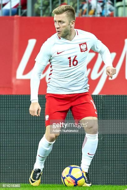 Jakub Blaszczykowski of Poland controls the ball during the International Friendly match between Poland and Mexico at Energa Arena Stadium on...