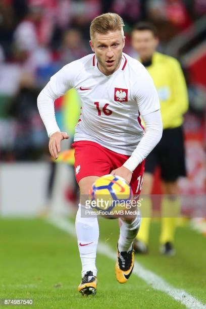 Jakub Blaszczykowski of Poland during the international friendly match between Poland and Mexico on November 13 2017 in Gdansk Poland