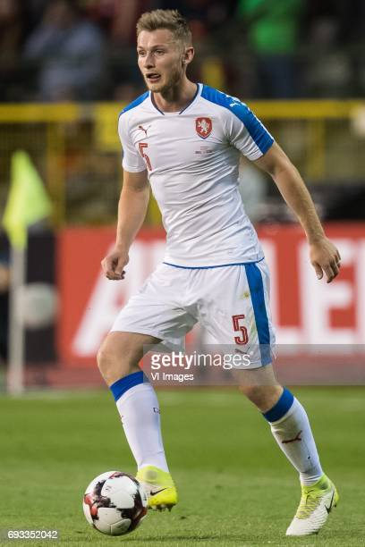 Jakub Brabec of Czech Republicduring the friendly match between Belgium and Czech Republic on June 05 2017 at the Koning Boudewijn stadium in...