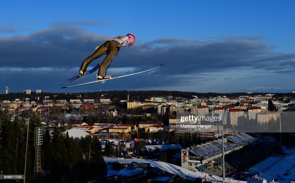 Men's Team Ski Jumping HS130 - FIS Nordic World Ski Championships : News Photo