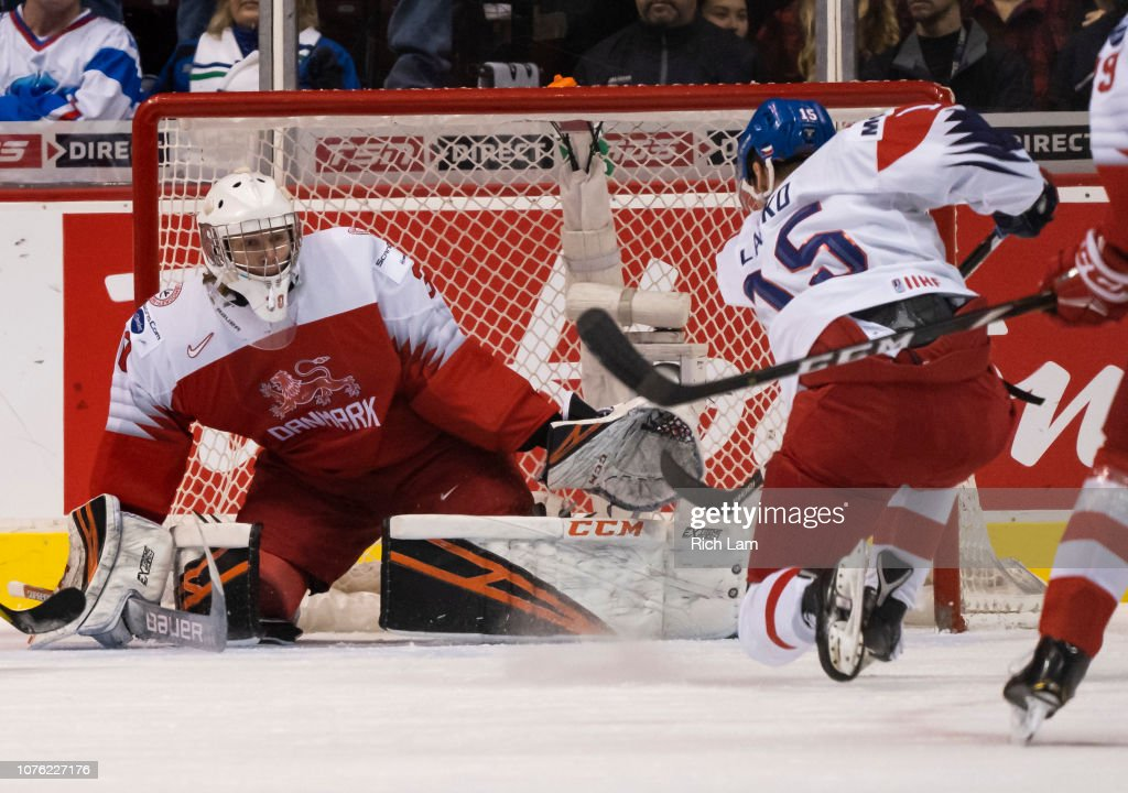 Denmark v Czech Republic - 2019 IIHF World Junior Championship : News Photo