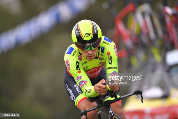 Jakub Mareczko of Italy and Team Wilier Triestina-Selle Italia / during the 101th Tour of Italy 2018, Stage 1 a 9,7km Individual Time Trial from...