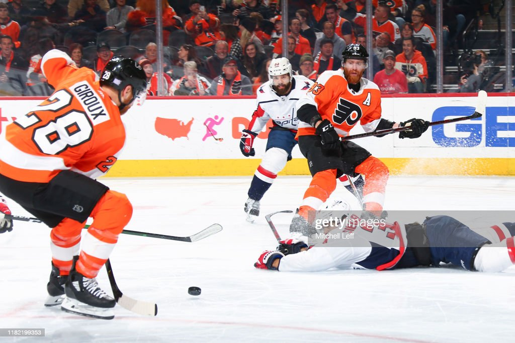 Washington Capitals v Philadelphia Flyers : News Photo