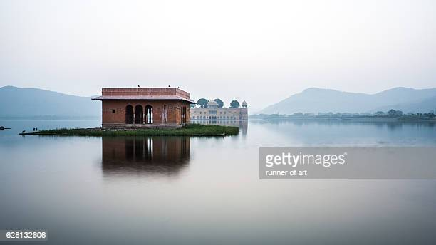 Jal Mahal during daylight