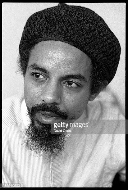 Jalal Mansur Nuriddin of the Last poets performing at The Wag Club Wardour Street Soho London United Kingdom 13 September 1984