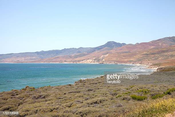 jalama beach, california - terryfic3d stock pictures, royalty-free photos & images