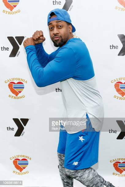 Jaleel White attends a charity softball game to benefit California Strong at Pepperdine University on January 13 2019 in Malibu California
