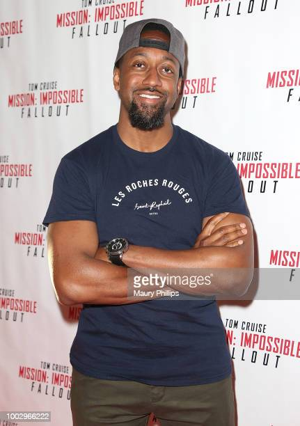 Jaleel White attends Mission Impossible Fallout Screening on July 20 2018 in Los Angeles California