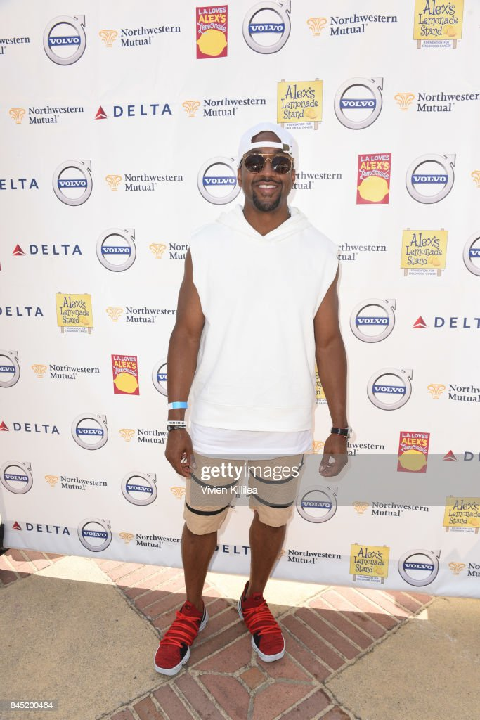 Jaleel White attends the 8th Annual L.A. Loves Alex's Lemonade at UCLA Royce Quad on September 9, 2017 in Los Angeles, California.