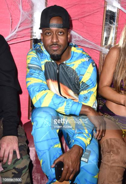 Jaleel White attends Travis Scott's Halloween At The Weekend Unlimited Delilah Take Over on October 31 2018 in Los Angeles California