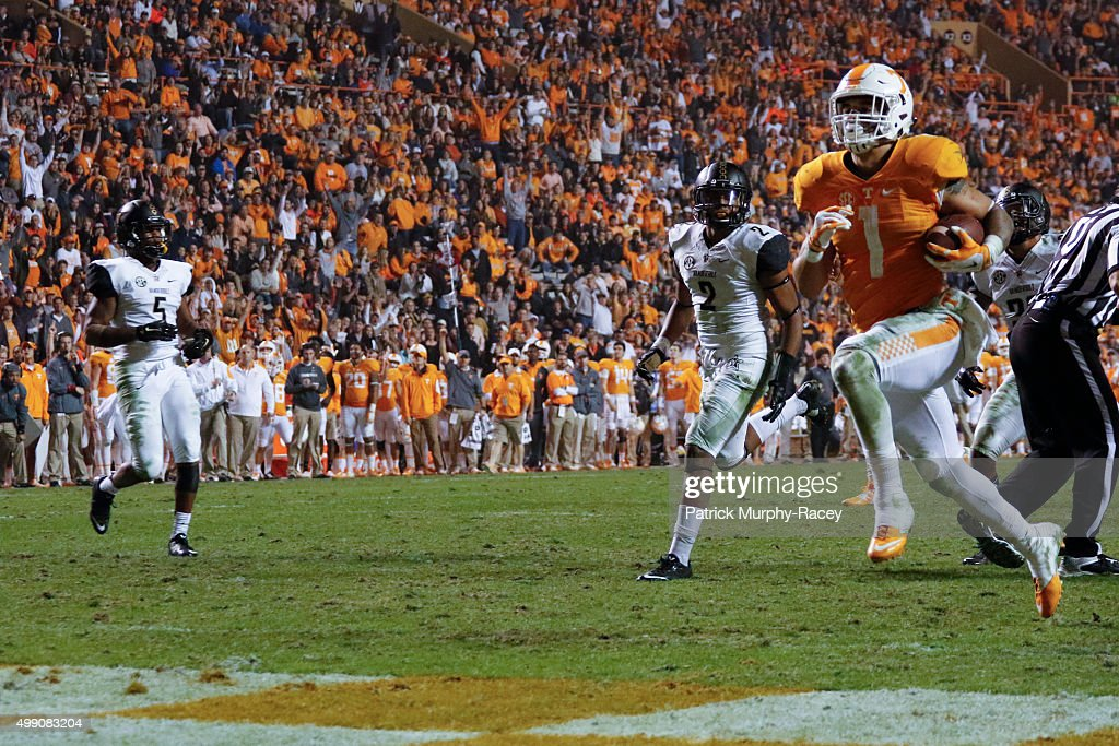 Vanderbilt v Tennessee : News Photo