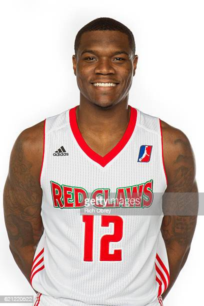 Jalen Jones of the Maine Red Claws poses for a head shot during NBA DLeague media day on November 4 2016 at the Portland Expo in Portland Maine NOTE...