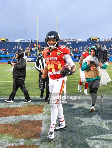 sports shoes 64ef4 bbfb3 Jalen Ramsey of the Jacksonville Jaguars celebrates after ...