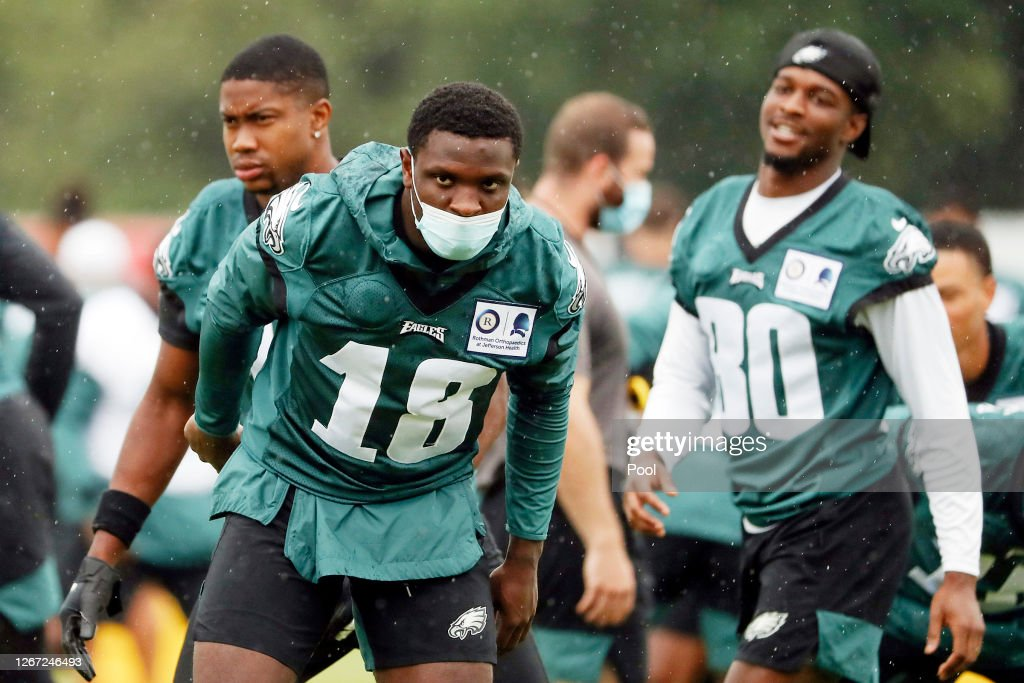 Philadelphia Eagles Training Camp : News Photo