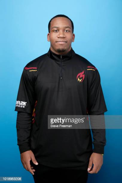 Jalen03303 poses for a photo on August 18, 2018 at the NBA 2K Studio in Long Island City, New York. NOTE TO USER: User expressly acknowledges and...