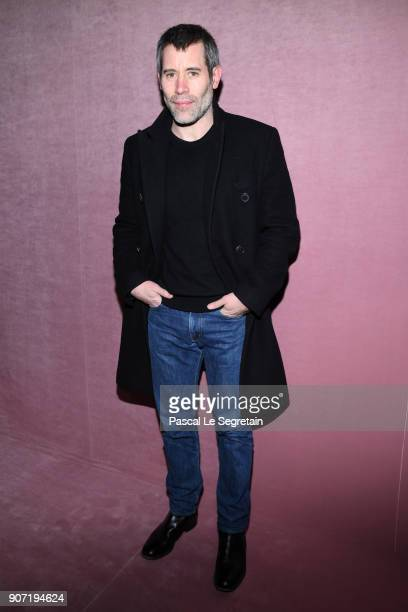 Jalil Lespert attends the Berluti Menswear Fall/Winter 20182019 show as part of Paris Fashion Week on January 19 2018 in Paris France
